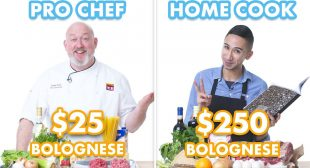 $250 vs $25 Pasta Bolognese: Pro Chef & Home Cook Swap Ingredients   Epicurious