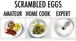 4 Levels of Scrambled Eggs: Amateur to Food Scientist | Epicurious