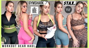 finally… a WORKOUT CLOTHING HAUL! 💪 Gymshark, Hine Collection, STAX. & more! 💕