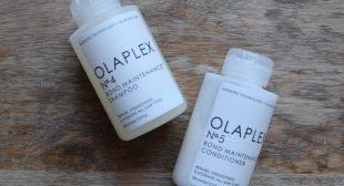 Haircare Review: Olaplex Bond Maintenance 4 & 5