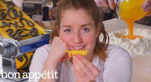 Pro Chef Tries to Invent New Pasta Shapes   Bon Appétit