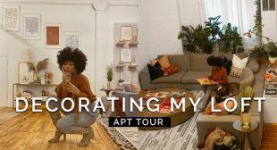 VLOG Decorating My Loft & Apartment Tour!