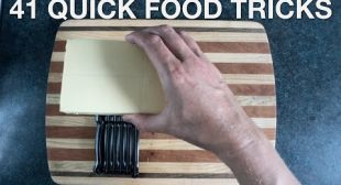 41 Quick Food Tricks – You Suck at Cooking