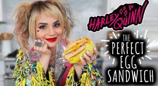 Harley Quinn's PERFECT Egg Sandwich Recipe – NERDY NUMMIES