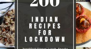 Lockdown recipes, 200 plus recipes for lockdown