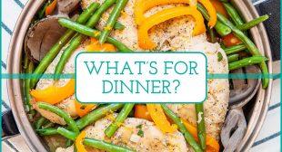 This Week's Meal Plan: 5 Simple Weeknight Dinners