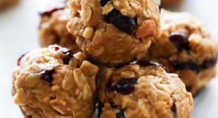 Cashew Peanut Butter Protein Balls