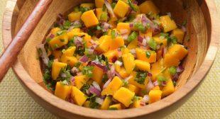 Mango salsa recipe, easy mango salsa