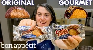 Pastry Chef Attempts to Make Gourmet Choco Tacos Part 2 | Gourmet Makes | Bon Appétit