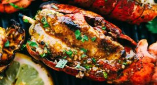 Grilled Cajun Garlic Butter Lobster Tails