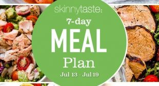 7 Day Healthy Meal Plan (July 13-19)