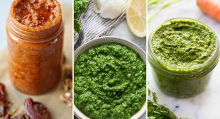 9 Ways to Make Pesto Straight from the Garden