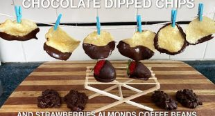 Chocolate Dipped Potato Chips – You Suck at Cooking (episode 113)
