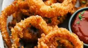 Crispy Onion Rings (Baked or Fried!)