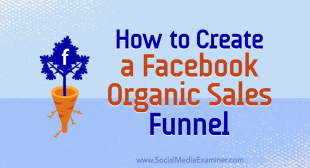 How to Create a Facebook Organic Sales Funnel