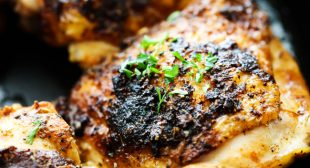 Skillet Italian Herb Chicken Thighs