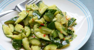 Smashed cucumber salad recipe