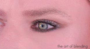 THE ART OF EYESHADOW BLENDING