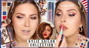 no ones talking about this? ⚓ KYLIE COSMETICS sailor collection!