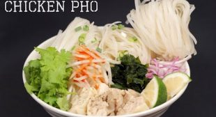 Chicken Pho Recipe (Japanese-inspired Vietnamese Rice Noodle Soup) | Cooking with Dog