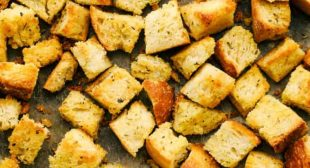 The Best Homemade Croutons