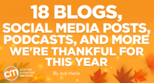 18 Blogs, Social Media Posts, Podcasts, and More We're Thankful For This Year