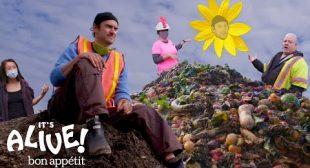Brad Learns How to Compost | It's Alive | Bon Appétit