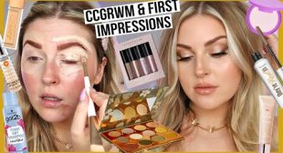 GRWM with some first impressions 😍 and my NATIVE flora & fauna palette! 🌿