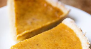Pumpkin Pie (Eggless & Easy)