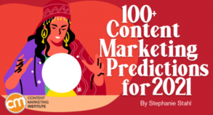 100+ Content Marketing Predictions for 2021