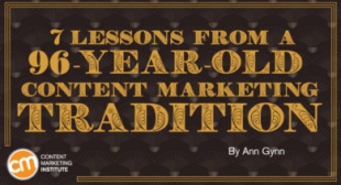 7 Lessons from a 96-Year-Old Content Marketing Tradition