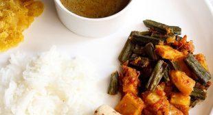 Aloo Bhindi – Spiced Potatoes and Okra