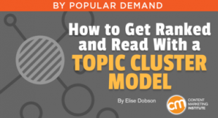 How to Get Ranked and Read With a Topic Cluster Model