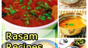 22 South Indian Rasam recipes collection