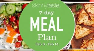 7 Day Healthy Meal Plan (Feb 8-14)