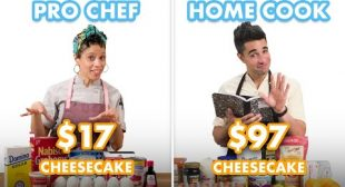 $97 vs $17 Cheesecake: Pro Chef & Home Cook Swap Ingredients | Epicurious