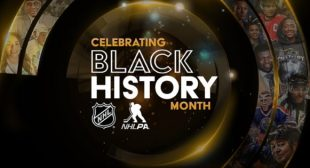 NHL, NHLPA Lace Up for Black History Month