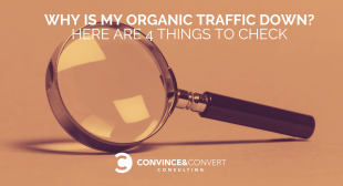 Why Is My Organic Traffic Down? Here Are 4 Things to Check