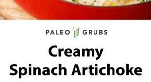 Creamy Spinach Artichoke Chicken Skillet