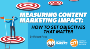 Measuring Content Marketing Impact: How To Set Objectives That Matter