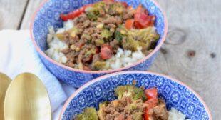 Quick Korean Rice Bowl Recipe