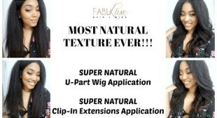 MOST NATURAL TEXTURE EVER! How To Install a U Part and How To Apply Clip Ins