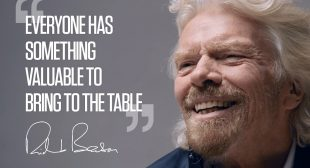 Everyone has something valuable to bring to the table