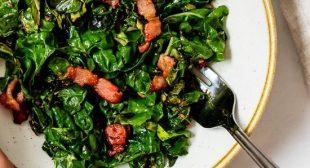 Sauteed Collard Greens with Bacon