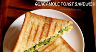 Avocado Sandwich | Guacamole Sandwich