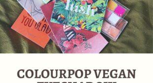 ColourPop Vegan Eyeshadow Palettes