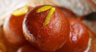 Instant Gulab jamun recipe with Jamun mix