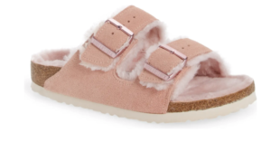 Our Fav Fuzzy Birkenstocks Now Come In A New Fabulous Fall Color