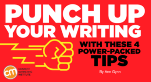 Punch Up Your Writing With These 4 Power-Packed Tips