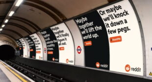 Reddit Marks Anniversary of Opening UK Office With Brand Marketing Campaign